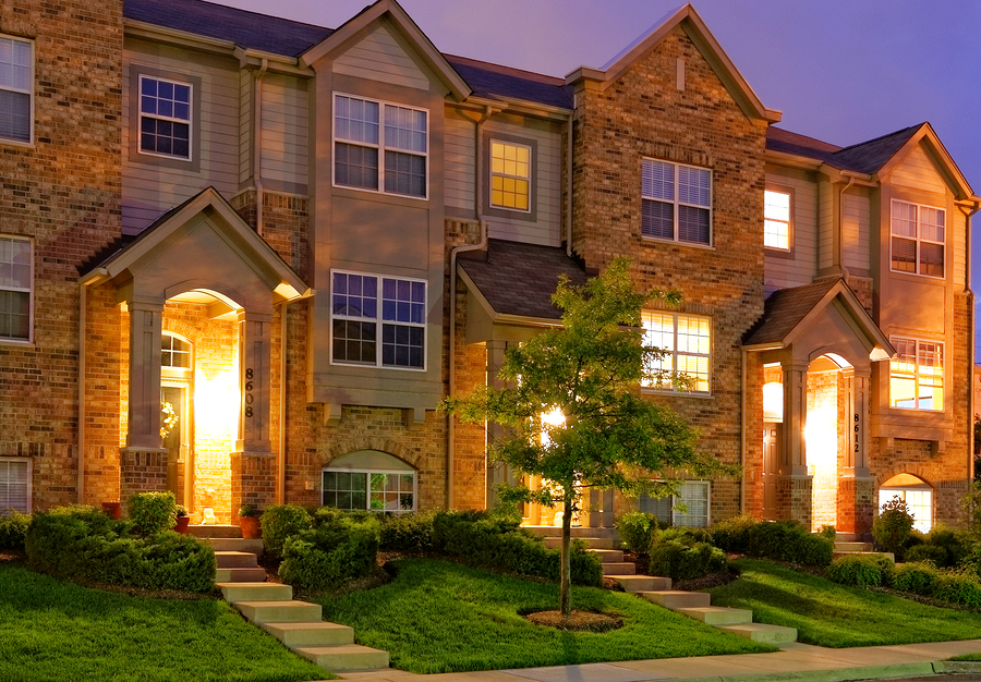 bigstock-Townhouse-at-Dusk-47197141